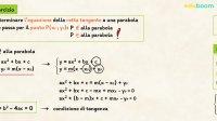 Rette tangenti a una parabola